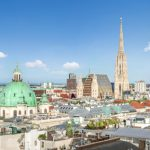 Skyline von Wien mit St. Stephansdom